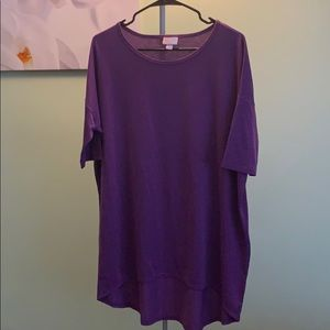LuLaRoe Purple Irma Top